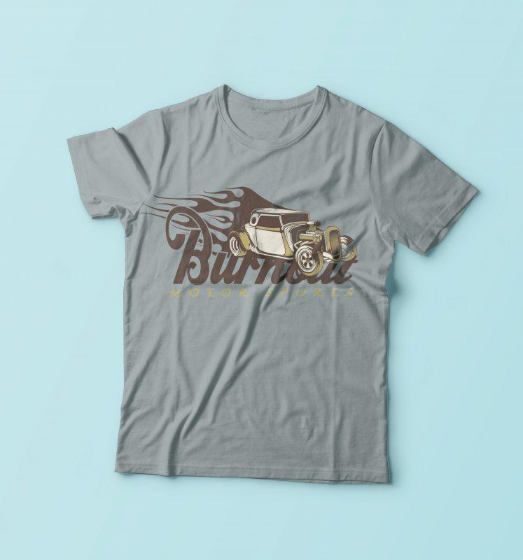Motor Sport buy t shirt design
