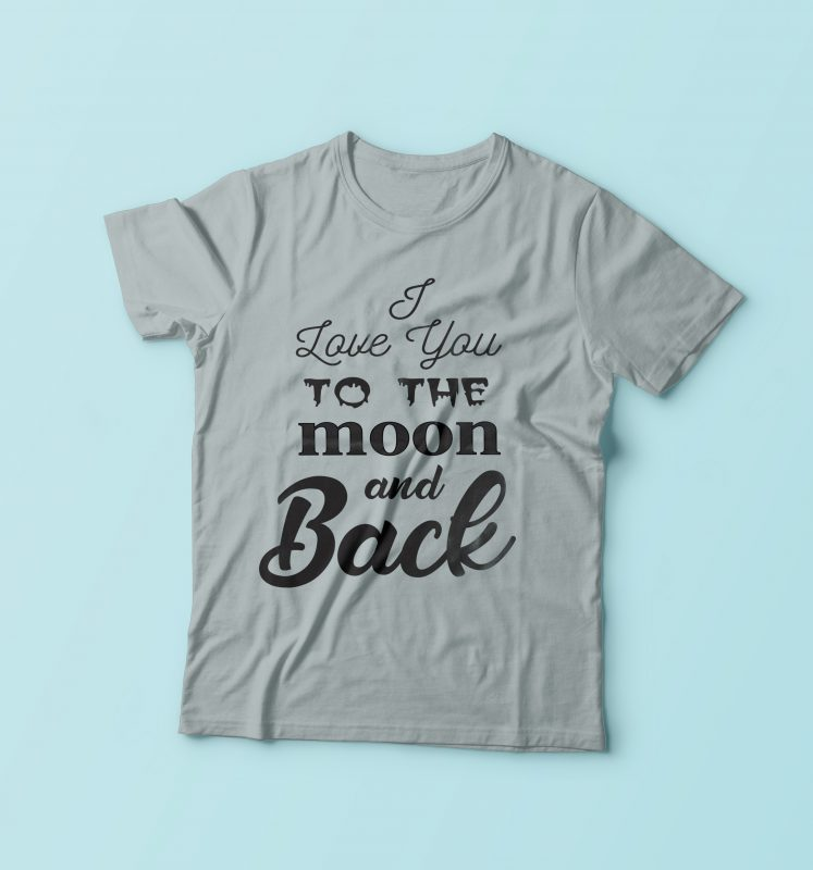 I Love You buy t shirt design
