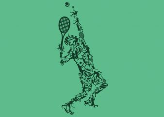 Tennis Tshirt Design buy t shirt design