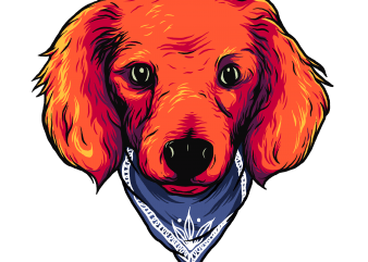 cool dog t shirt vector file