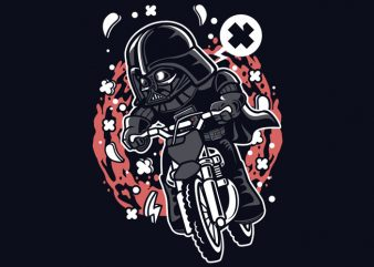 Vader Motocross Rider buy t shirt design