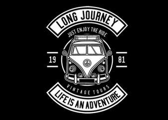 Van Long Journey Tshirt Design buy t shirt design