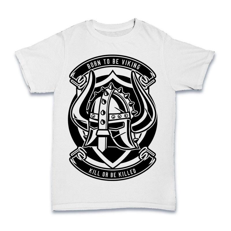 Viking Helmet Tshirt Design buy t shirt design