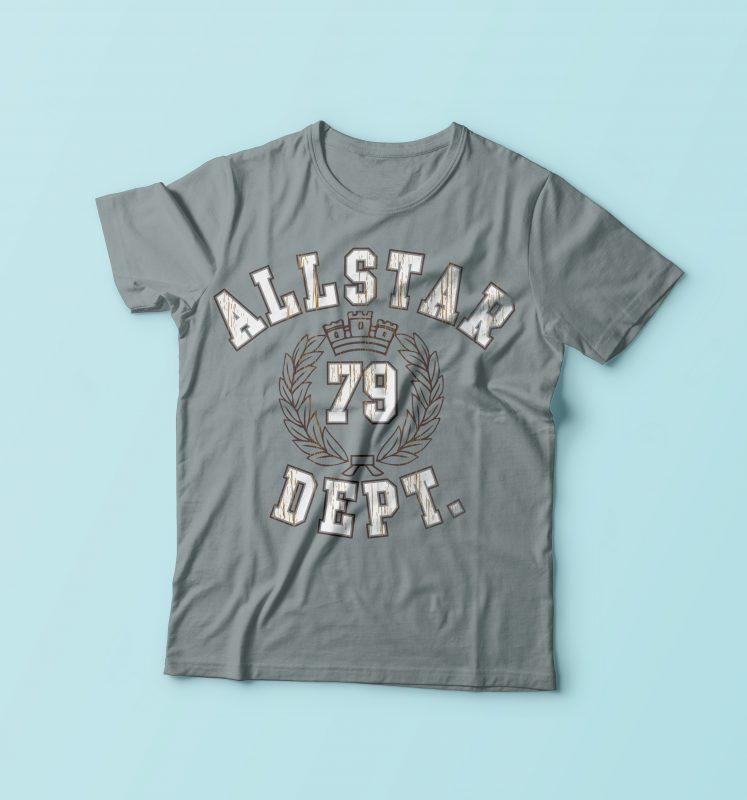 All Star 79 Dept buy t shirt design