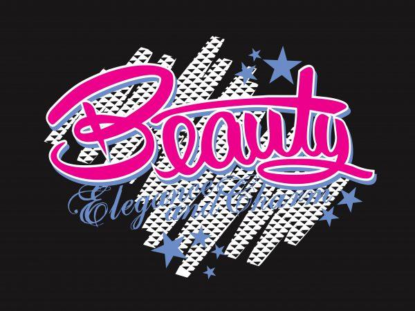 Beauty buy t shirt design