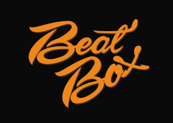 Beat Box t shirt template