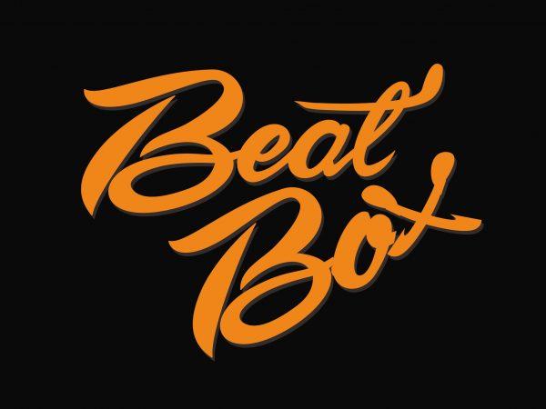 Beat Box buy t shirt design