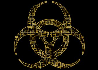 Biohazard Tshirt Design buy t shirt design
