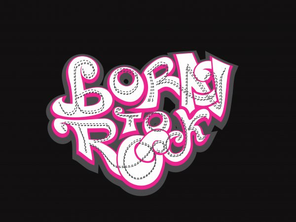 Born To Rock buy t shirt design