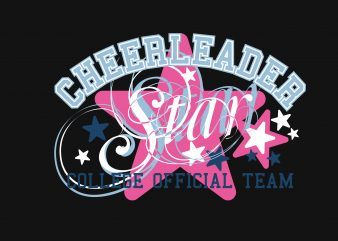 Cheerleader buy t shirt design