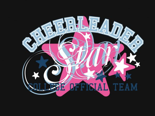 Cheerleader buy t shirt design