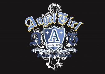 Angel Girl buy t shirt design