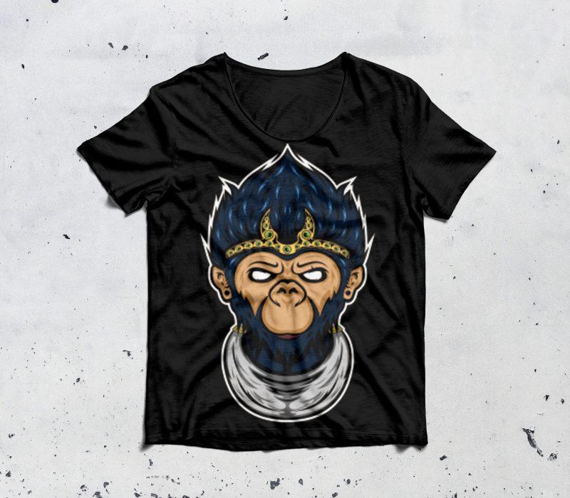 monkey king buy t shirt design