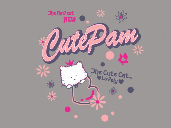 Cute Pam buy t shirt design