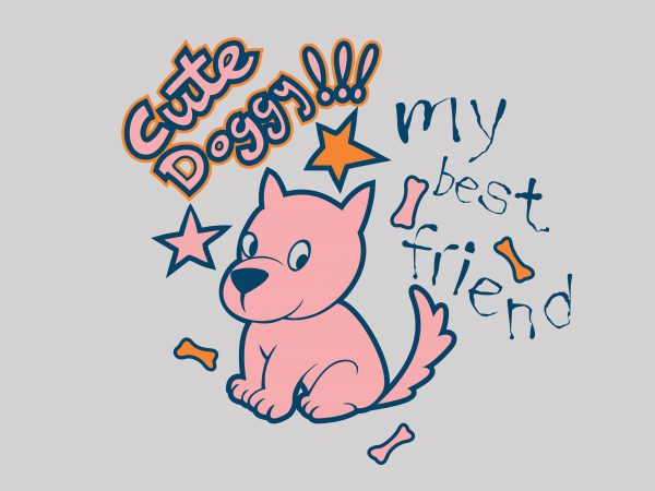 Cute Doggy buy t shirt design