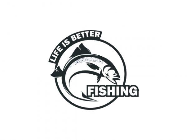 Fishing buy t shirt design