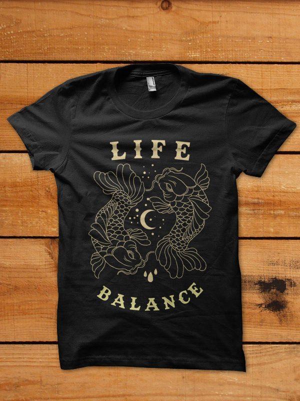 koi fish tshirt design buy t shirt design