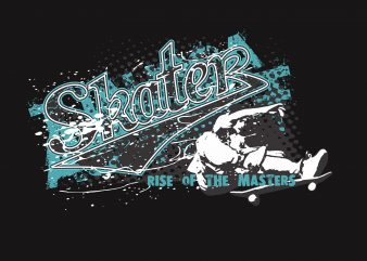 Skater buy t shirt design
