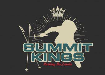 Summit Kings buy t shirt design