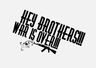 Hey Brothers graphic t shirt