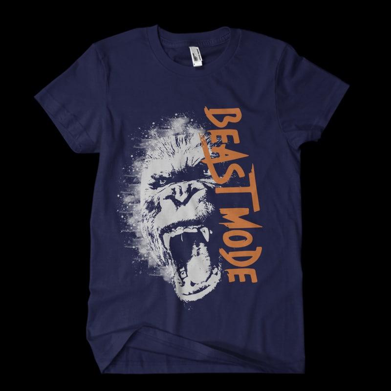 beast Vector t-shirt design buy t shirt design
