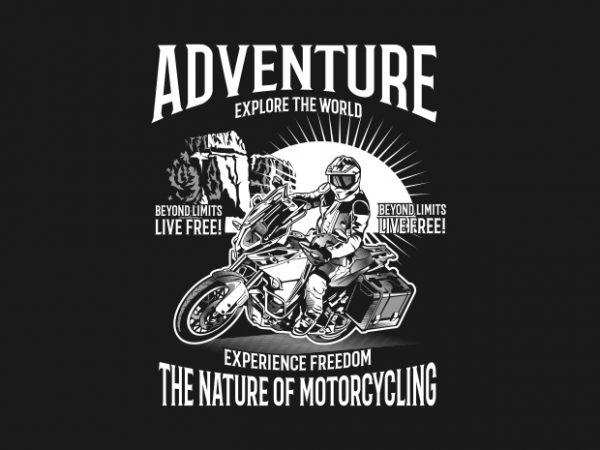 6979b040f01b ADVENTURE- Best T-shirt Design
