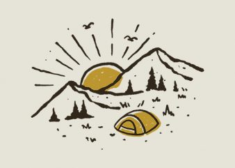 Sunrise Mountain buy t shirt design