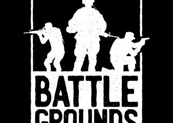 Battlegrounds Army t shirt vector
