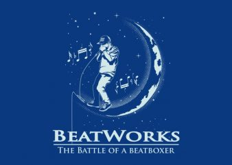 BEAT WORK buy t shirt design