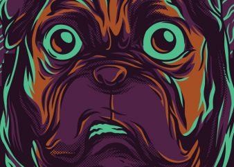 Pug Life T-Shirt Design buy t shirt design