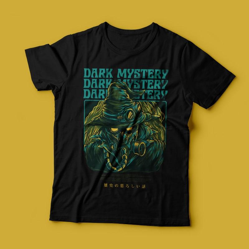 Dark Mystery T-Shirt Design buy t shirt design