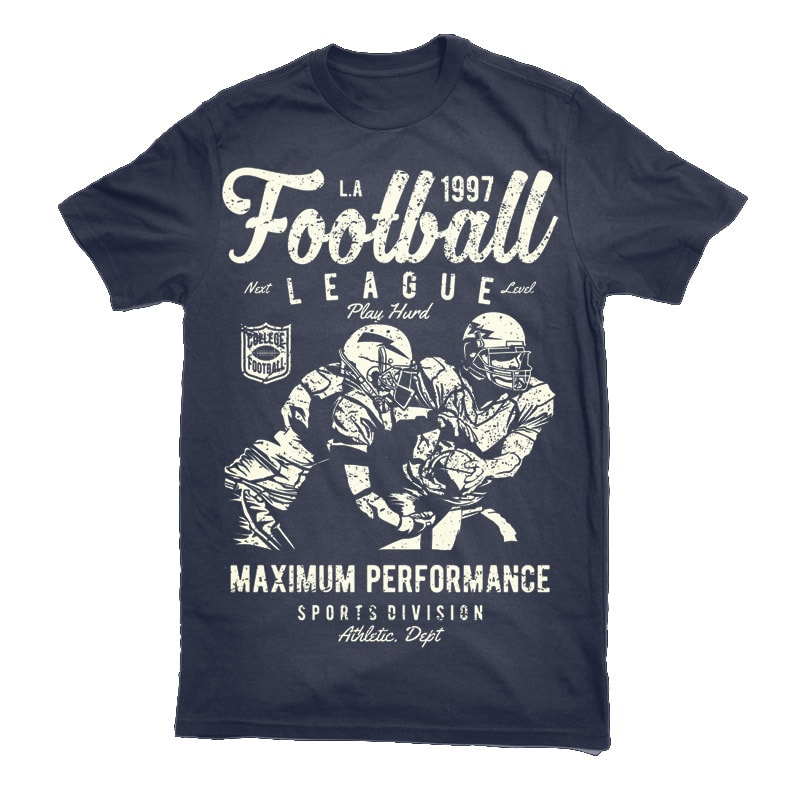 Football League Vector t-shirt design buy t shirt design