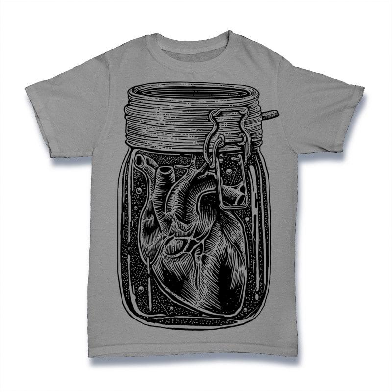 Jar Of Heart Tshirt Design buy t shirt design