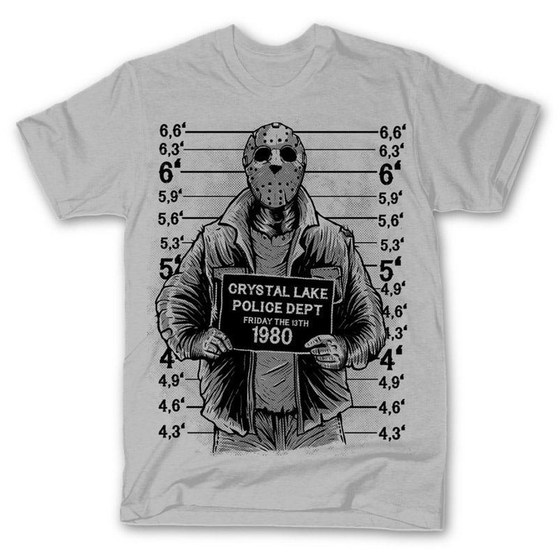 Jason buy t shirt design