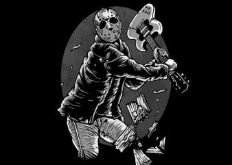 Jason Rock Tshirt Design buy t shirt design