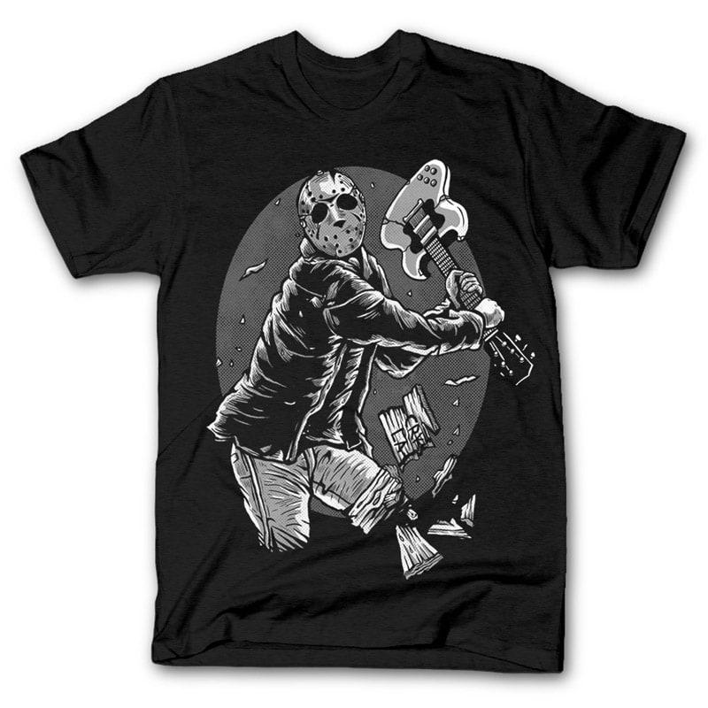 Jason Rock Tshirt Design buy t shirt design