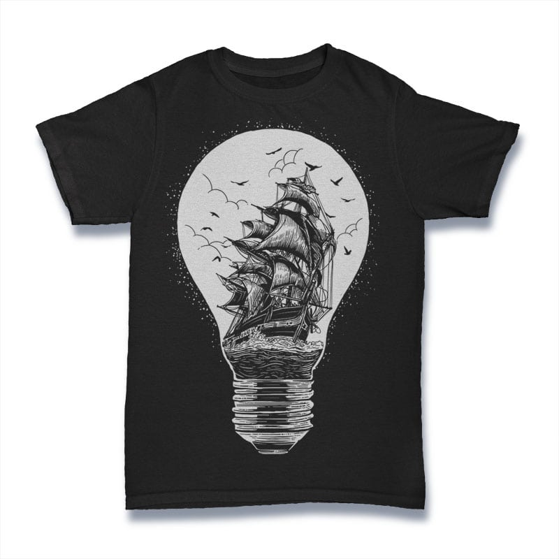 Light Of Journey buy t shirt design