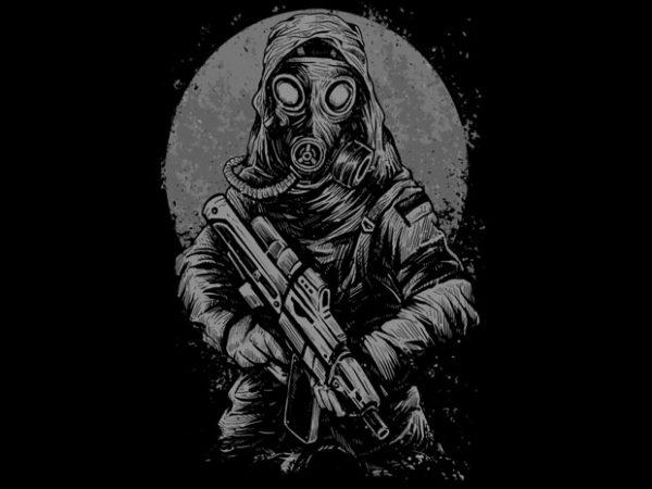 Soldier Tshirt Design