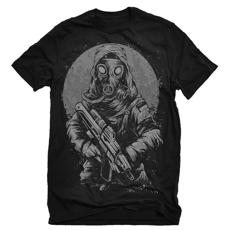 Soldier Tshirt Design buy t shirt design
