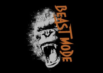 beast Vector t-shirt design buy t shirt design
