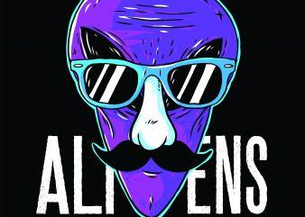 Alien Exist buy t shirt design