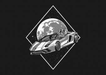 bilionaire astronaut t shirt template