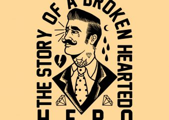 broken tshirt design buy t shirt design
