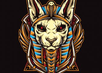 cat anubis buy t shirt design