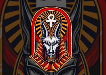 Anubis T-shirt Design buy t shirt design