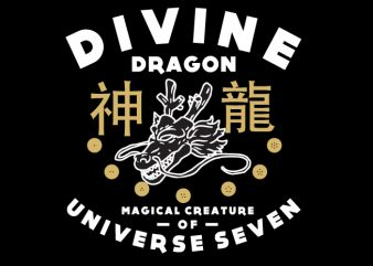 Divine Dragon buy t shirt design