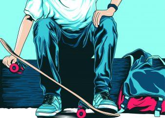skaters boy , skateboard buy t shirt design