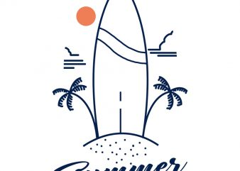 summer vibes tshirt design