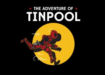 The adventure of Tinpool buy t shirt design