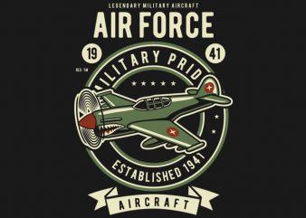 Air Force buy t shirt design